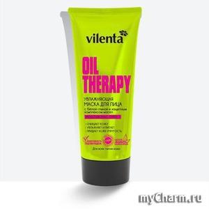 VILENTA / Маска Для Лица Oil Therapy Увлажняющая С Белой Глиной И Защитным Комплексом Масел
