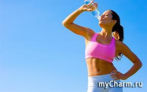 Как правильно пить воду, что бы похудеть.