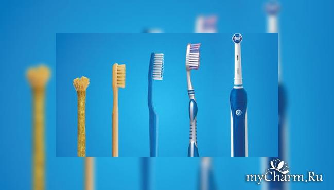 про зубную щетку