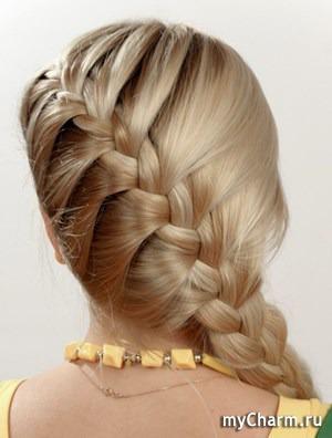 Популярные прически с косами