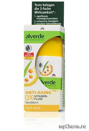 Alverde / Витаминный флюид Anti-aging vitamin fluid Q10 Sanddorn