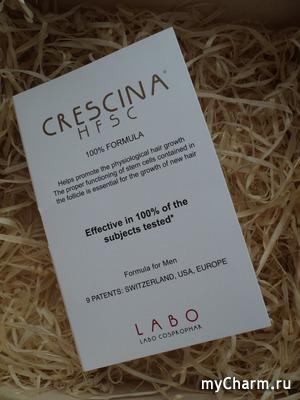 Crescina: скажем НЕТ - выпадению, ДА - возобновлению роста волос!