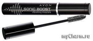 Avon / Sonic Boost тушь для ресниц с вибрирующей щеточкой