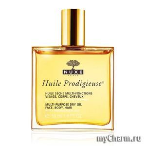 Nuxe / Сухое масло для лица,тела и волос Huile Prodigieuse