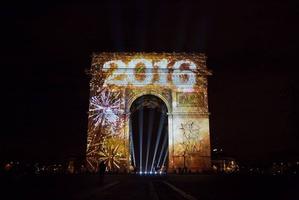 Новогодний Париж 2015-2016