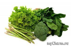 Зелень помогает похудеть