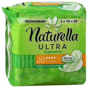 Naturella / Гигиенические прокладки Прокладки Camomile ultra normal