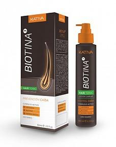 Kativa / Тоник против выпадения волос с биотином серия Biotina