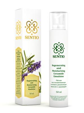 SENTIO / Эмульсия для лица Легкая восстанавливающая эмульсия с церамидами