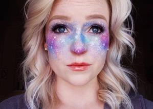 Макияж «Галактика»: кто смелый, чтобы попробовать?