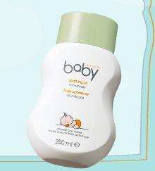 Avon / Смягчающее средство baby soothing oil non-greasy huile apaisante ne colle pas