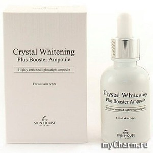 The skin house / Сыворотка для лица Crystal Whitening Plus Booster Ampoule