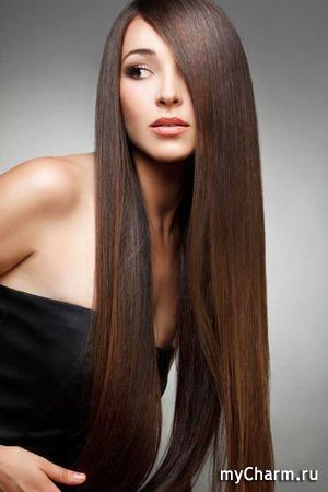 Khaniya Холим и лелеем любимые три волосины.