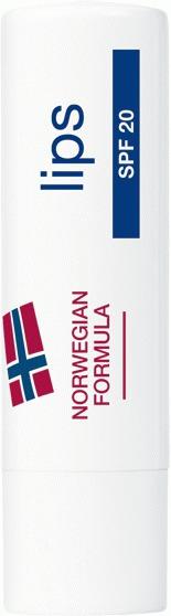 Надежная защита для губ с защитой от UV излучения SPF 20 NEUTROGENA® «Норвежская формула»