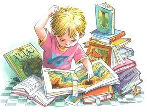 Открываем и познаем книжный мир вместе с ребенком