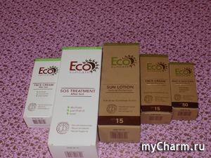 Природная защита кожи летом от Eсо suncare. Часть 1
