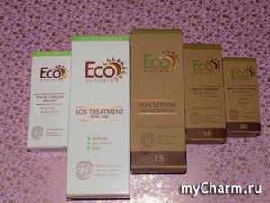 Природная защита кожи летом от Eсо suncare. Часть 2