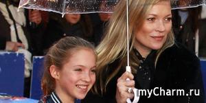 13-летняя дочь Кейт Мосс снялась для своей первой обложки Vogue