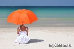 Оранжевое лето, оранжевое солнце, оранжевая... Я