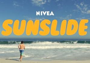 Nivea придумала оригинальный способ наносить детский солнцезащитный крем