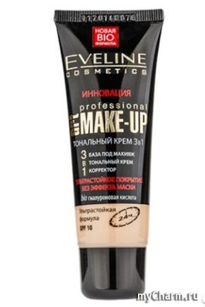 Eveline Cosmetics / Тональный крем Art Professional Make Up 3 в 1