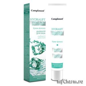 Compliment / Дневной крем-флюид для лица увлажняющий серии Hydralift Hyaluron