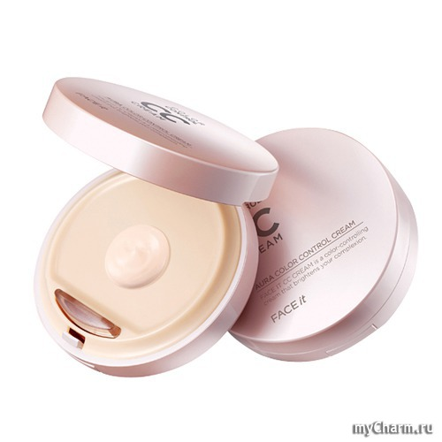 Серия Мини-обзор: The Face Shop Face It Aura Color Control Cream СС Крем SPF30, PA ++