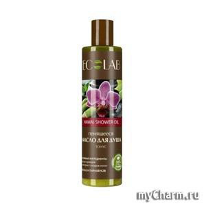 """Ecolab / Масло для душа пенящееся Hawai shower oil """"Восстановление"""""""