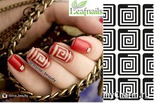Leafnails / Трафареты для ногтей Vinylist (в ассортименте)