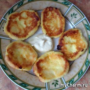 Всем на завтрак! Румяные сырники в духовке