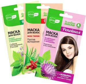 Здоровые и красивые волосы - с масками Naturalist это легко!