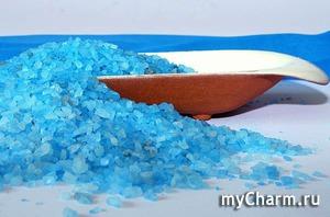 Морская соль - рецепты для волос