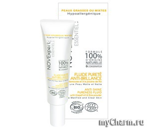 NovExpert / Матирующий флюид для лица Anti Shine Pureness Fluid