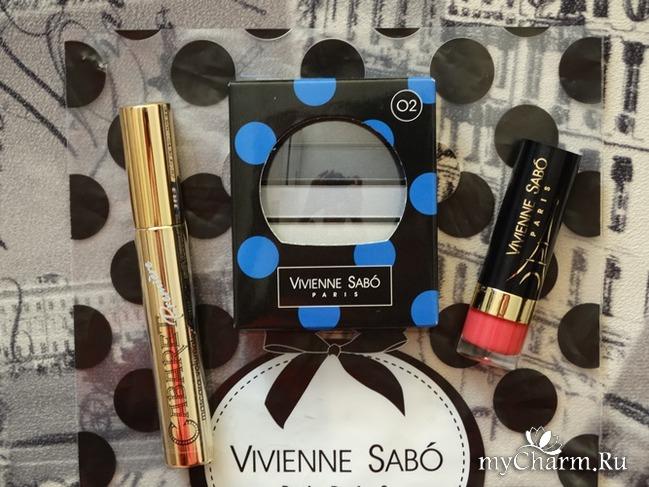 """Спасибо """"Vivienne Sabo"""" за великолепные призы и их моментальную доставку!!!"""