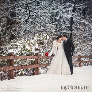 Наша зимняя, сказочная свадьба...