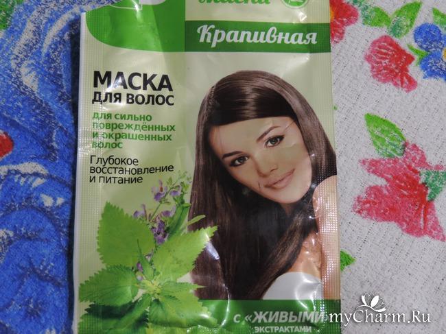 Крапивная маска для волос