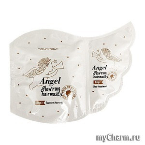 Tony Moly / Маска для волос Angel Glowring Hair Mask