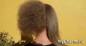 Как правильно сушить волосы, чтобы они не пушились. Шаг 2 : Шлифовка кудрявых волос