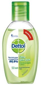 Антибактериальный гель для рук Dettol