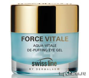 Swiss Line / Гель вокруг глаз Aqua-Vitale De-Puffing Eye Gel