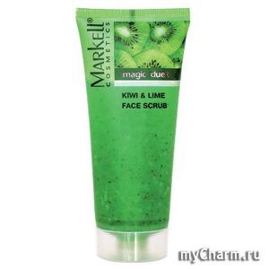 Markell / Скраб для лица Magic duet kiwi&lime face scrub