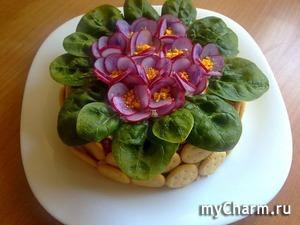 Украшаем салаты
