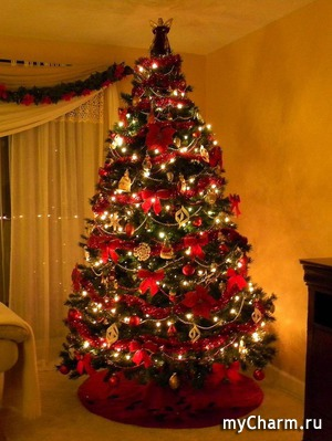Новогодние елки в различных городах мира.