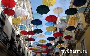 Мода на зонтики.