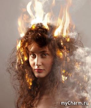 Лечение волос огнем : что, как и зачем