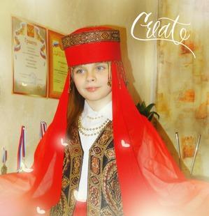 """Костюм для школьного фестиваля """"Народы мира"""" своими руками"""