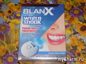 Зубных дел мастера. Blanx White Shock Treatmen + Led Bite - отбеливающая зубная паста!