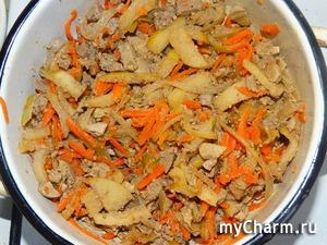 """Салат из куриной печени """"Вкусно и просто"""""""