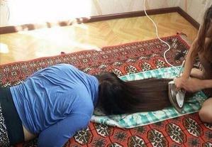 Убить волосы за две недели - не люблю, но практикую...