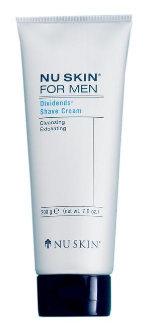 NU SKIN / Крем для бритья for men Dividens Shave Cream